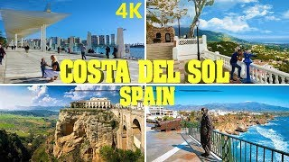 COSTA DEL SOL - SPAIN 4K 2019 TOP ATTRACTIONS