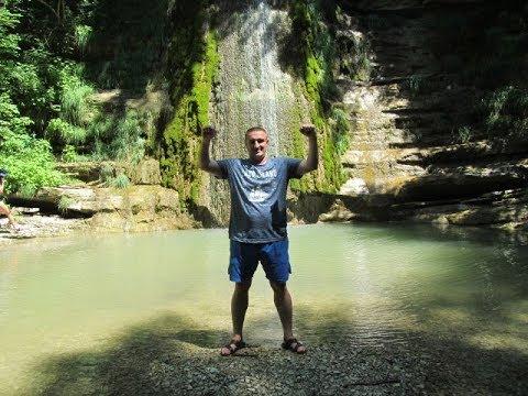 Едем на экскурсию Крылатые водопады в Геленджике