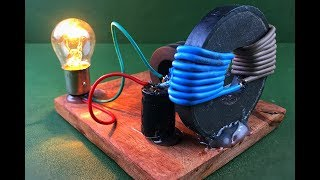 Free energy device generator magnet coil 100% using dc motor , science technology new idea project