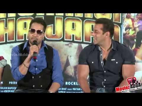 Salman Khan Makes FUN Of Mika Singh  Bajrangi Bhaijaan Eid Song Launch