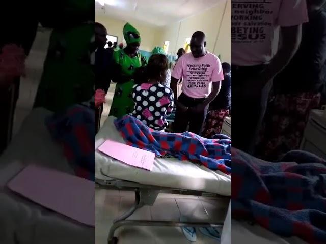 GMFC  - WFF Brethren Consoling the Sick in Jesus Name Western Kenya