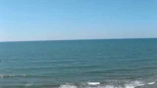 海と山の写真を合わせてみました。