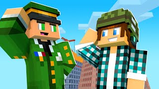 O CAPITÃO DO EXÉRCITO !! - Minecraft Cidade #19