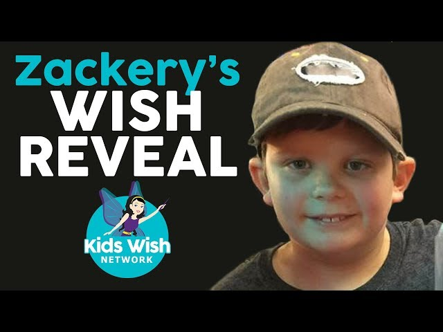 Wish Kid Zackery's WISH REVEAL to go to Duck Dynasty's DUCK COMMANDER