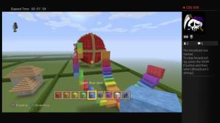Minecrafting easter egg build