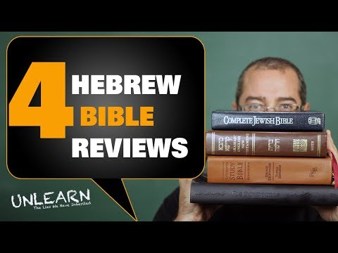 4 Messianic Bible Translations I recommend | UNLEARN