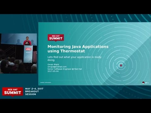 Monitoring Java application performance using Thermostat