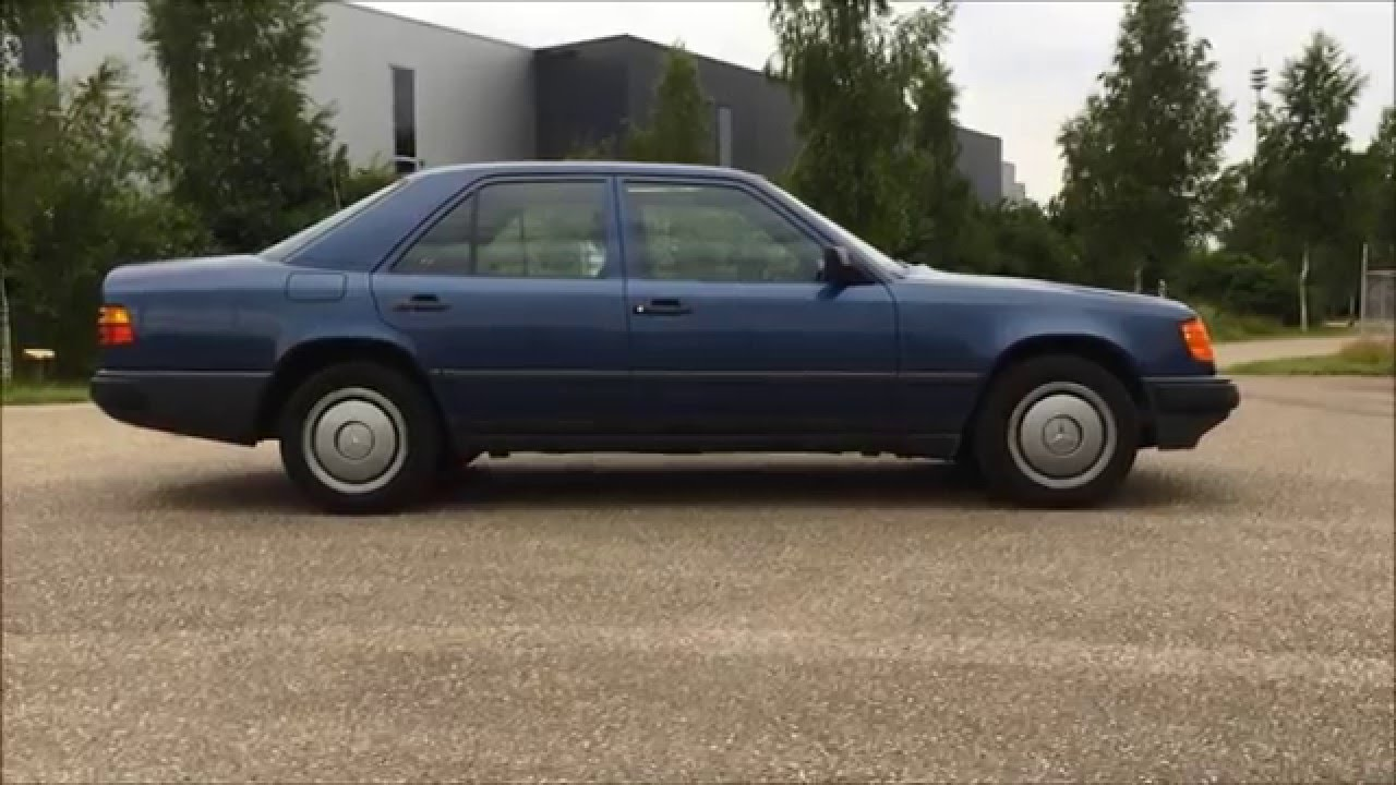 1987 Mercedes-Benz W124 300E review Interior Exterior and Exhaust