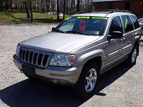 High Quality 2002 Jeep Grand Cherokee Overland Edition