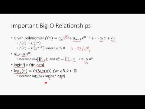 Big O Notation - Discrete Math Structures 5