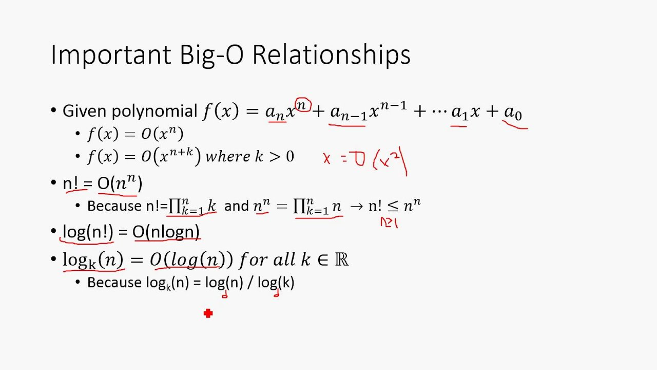 Big O Notation Discrete Math Structures 5 Youtube