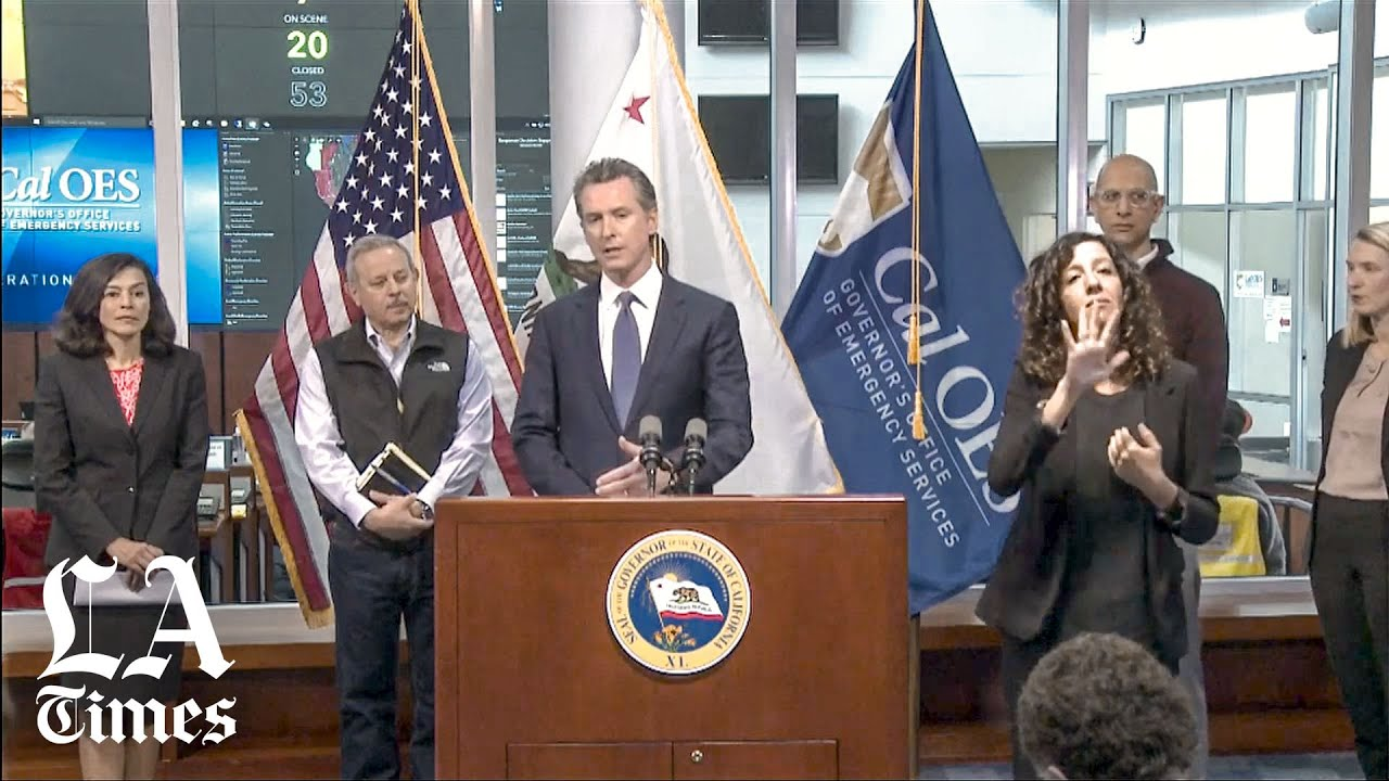 Gavin Newsom: To Slow Covid-19, Shut Bars And Indoor Restaurants