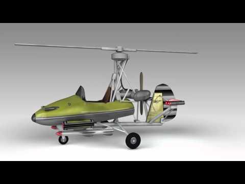 "James Bond ""Little Nellie"" Gyrocopter"