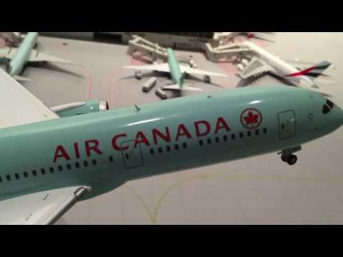 GeminiJets 1/200 Air Canada Boeing 787-9 Review