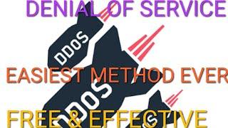 Bash ddos script denial of service tool kali linux 2019
