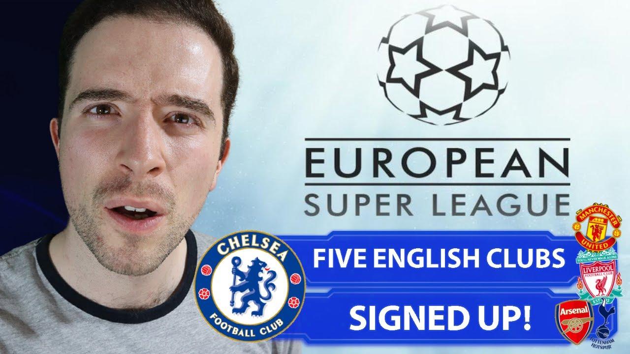 Man United, Liverpool among clubs in $6 billion European Super ...