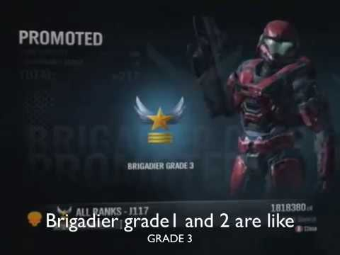 Halo Reach Ranks After LT.Colonel & More!