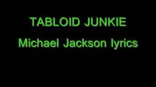 Tabloid Junkie Lyrics