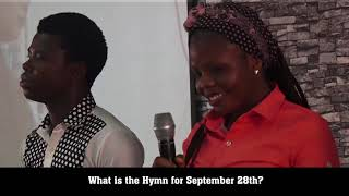 PASTOR EA ADEBOYE OPEN HEAVENS QUIZ  SEPTEMBER EDITION