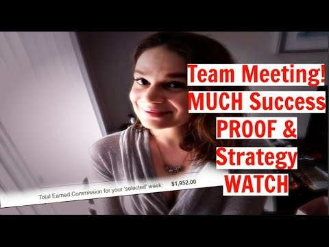 Power Lead System 2018 - Team MEETING & INCOME PROOF - Make $500 A Day Online Blueprint