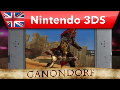 Hyrule Warriors: Legends - Ganondorf Trident Gameplay (Nintendo 3DS)