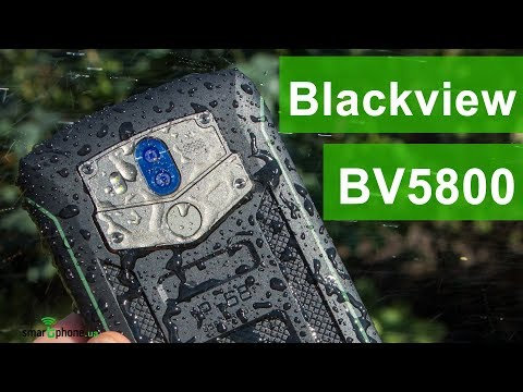Blackview BV5800: экран 18:9, защита IP68, NFC - от $120