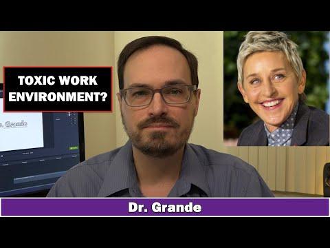 Ellen Degeneres and Toxic Work Environments | The Cost of Sensitivity