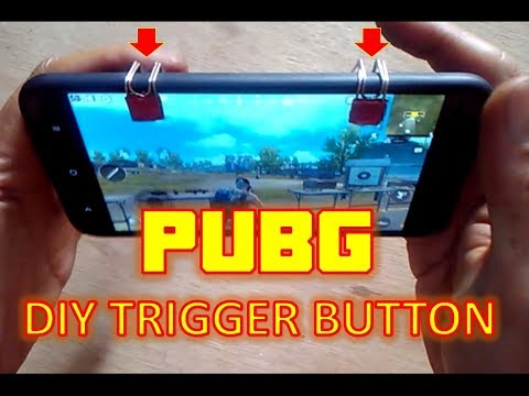 DIY Paperclips L1 R1 Phone Trigger Buttons (PUBG/Fortnite/ROS)  v.2