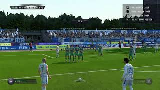 I was so bored that I published a clip of FIFA 18