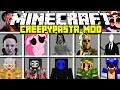 Minecraft CREEPYPASTA MOD! | SLENDERMAN, SONIC.EXE, SEED EATER & MORE! | Modded Mini-Game