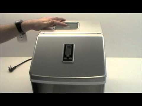 EdgeStar - IP211SS Portable Ice Maker - Operation and Maintenance