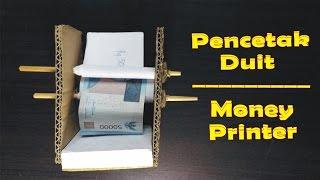 Cara Mudah Membuat Printer Uang/Duit   Trik Sulap
