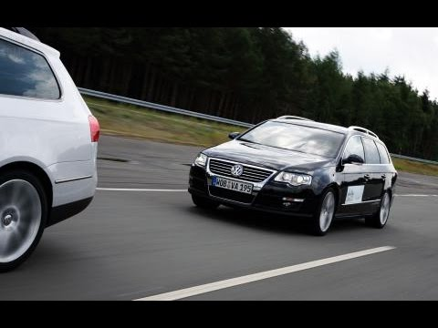 Turbo in Autostrada AA passat 3c highline (BlueMotion) [HD]