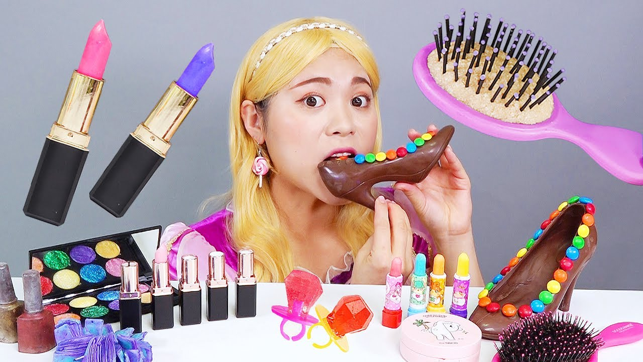 Download Chocolate Makeup Edible Lipstick DONA Mukbang