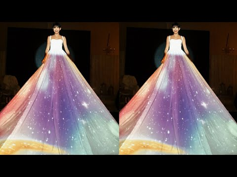 MUST WATCH: Maine Mendoza in 3D Gown Projection #MaineMagicalAt23