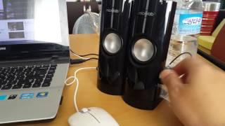 마이크로랩 B-18 스피커 음량 microlab B-18 speaker