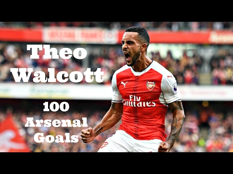 Theo Walcott - First 100 Goals For Arsenal
