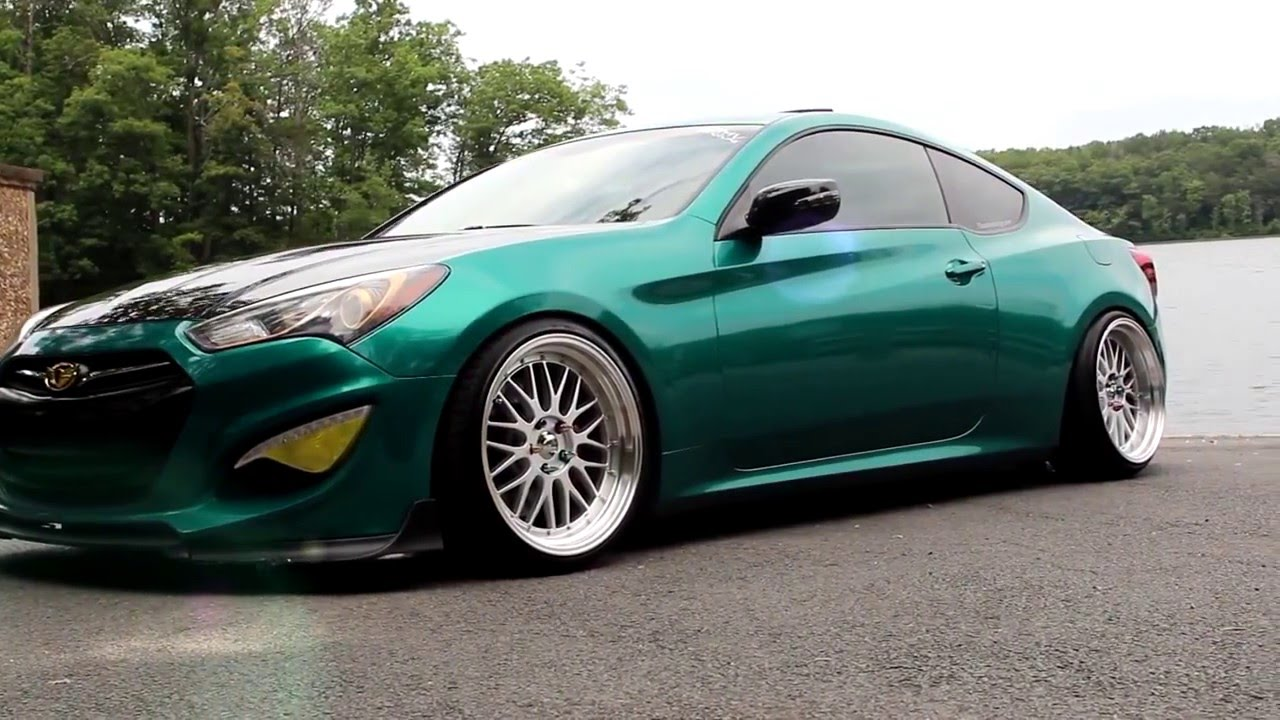 Stanced Genesis Coupe