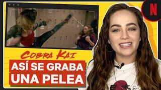 Cobra Kai   Cómo se grabó la pelea en la escuela