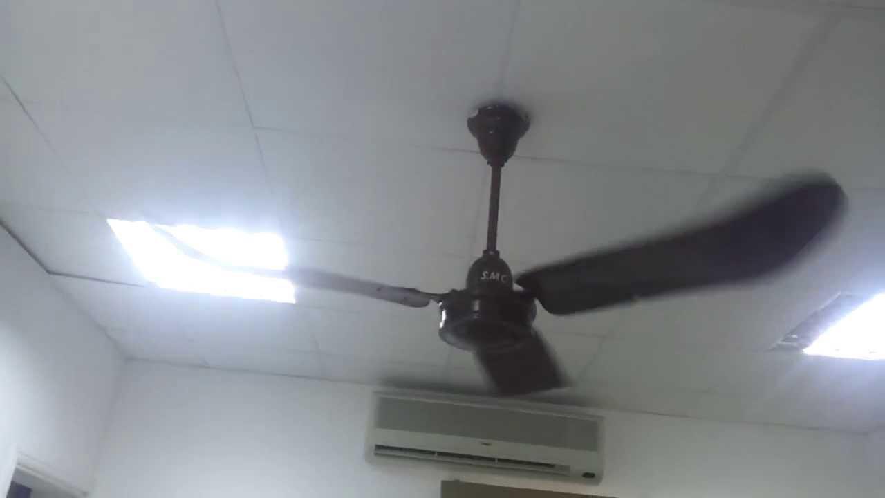 Early Mid 1960s Smc Ceiling Fan