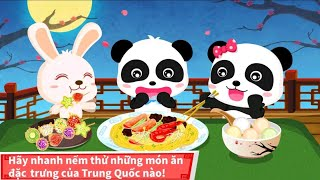 Babybus games | Chinese recipes | games for children