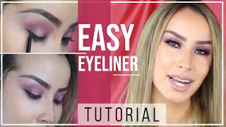 Easy Eyeliner Tutorial with Immovable by Lisa Opie | Mia Adora Beauty