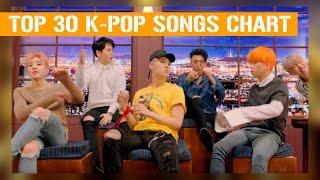 K-ville's [top 30] k-pop songs chart - august 2016 (week 2)
