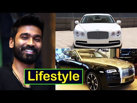 Dhanush Lifestyle | Net Worth | Salary | Wife | Cars | Family | Career | Hobbies | Biography 2017