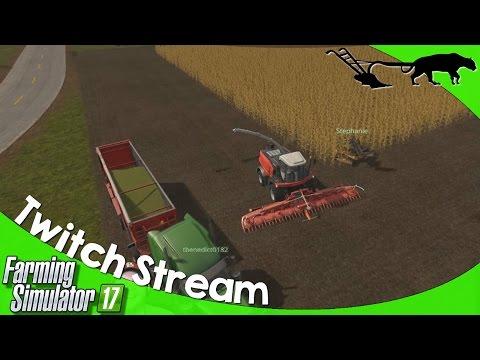 Twitch Stream: Farming Simulator 17 PC Goldcrest Valley 12/05/2016 P1