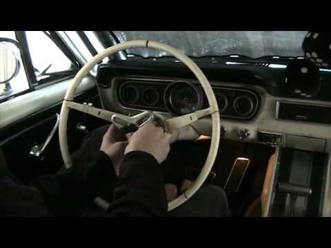 Mustang Steering Wheel Removal 1965 64 66 Youtube