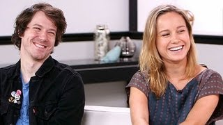The Newsroom's Brie Larson and John Gallagher Jr. Talk About Their Date Night | POPSUGAR News