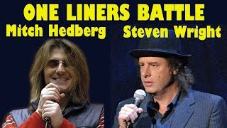 Stand Up Battle - Steven Wright vs Mitch Hedberg | Stand Up Comedy Moments