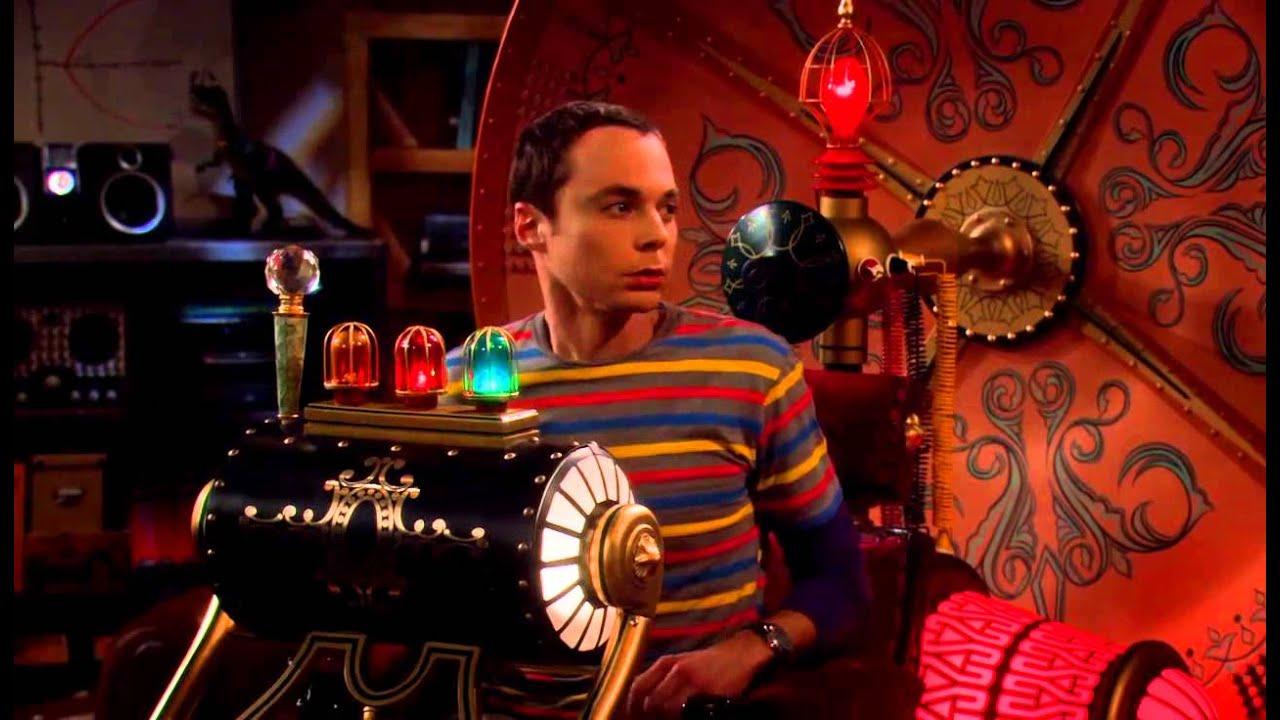 The Big Bang Theory S01e14 - Time Machine - YouTube