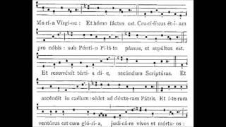Credo 1 (i)  - Gregorian Chant